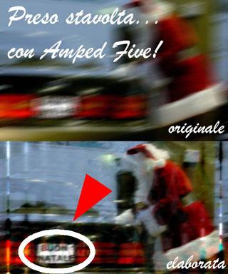 Amped Santa!