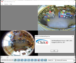 ClickIt DVR interface